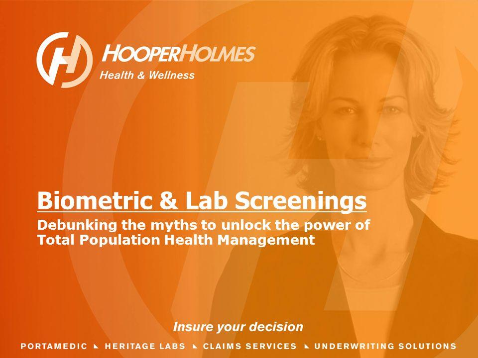 Biometric & Lab Screenings