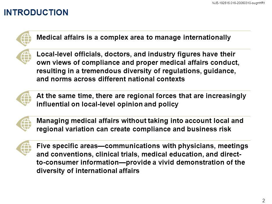 NJE-192515.016-20050310-sugnHR1 NJE-192515.016-20050310-sugnHR1. INTRODUCTION. Examples of regional regulation: