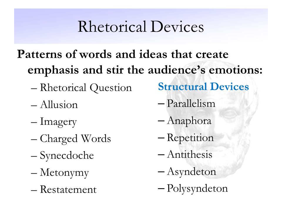 antithesis rhetorical strategy This short video covers rhetorical strategies antithesis, which basically rhetorical strategy of persuasion - duration.