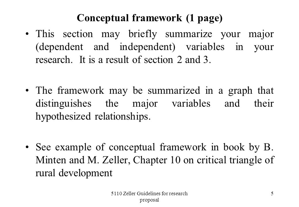5110 Zeller Guidelines For Research Proposal Ppt Video Online Download