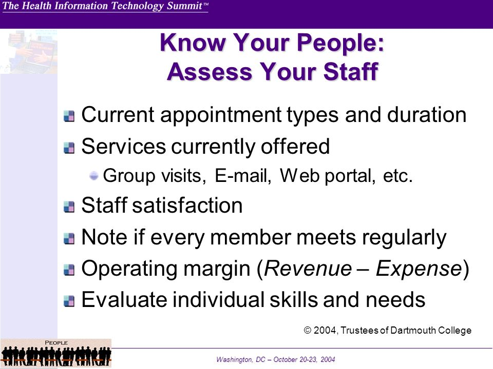 Know Your People: Assess Your Staff