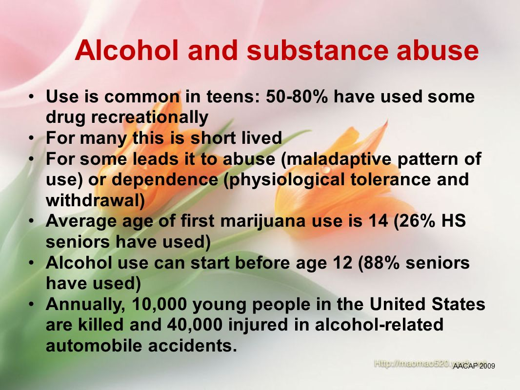 alcohol abuse rehabilitation failure