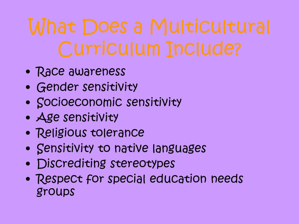 Multicultural Education - ppt video online download