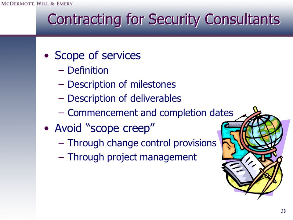 Contracting for Security Consultants