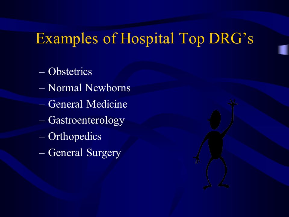 Examples of Hospital Top DRG's