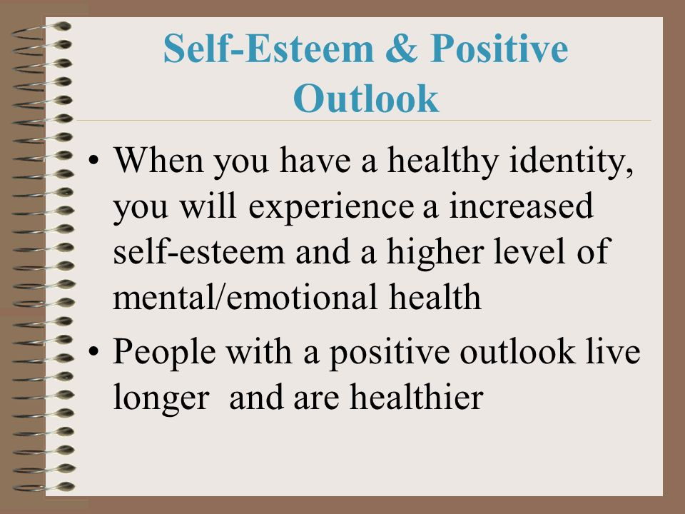 Self-Esteem & Positive Outlook