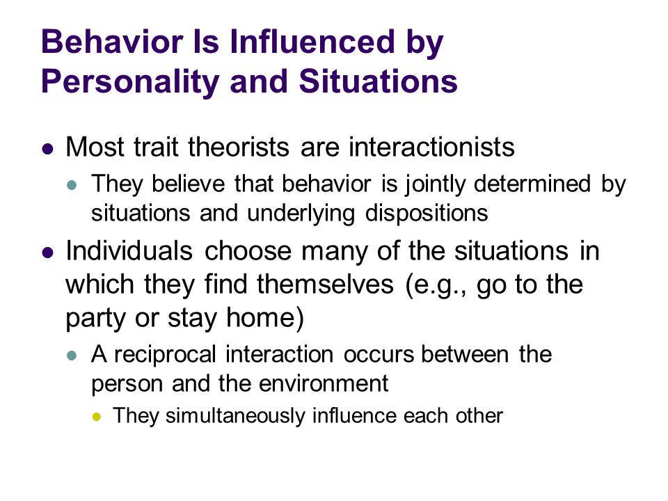 situations choose the person 2 situations choose the person a there will be times when no matter what the from psychology 310 at argosy university.