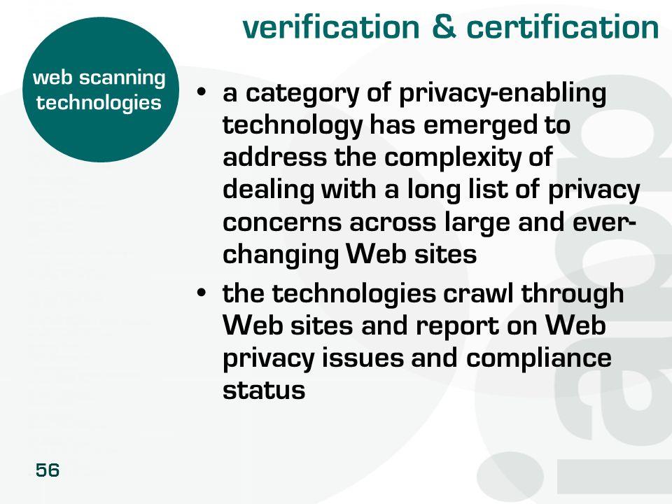 verification & certification