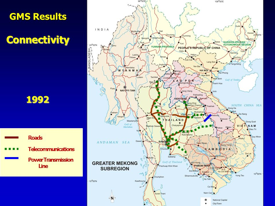Connectivity GMS Results 1992 [Note: Click 3 times.] Roads
