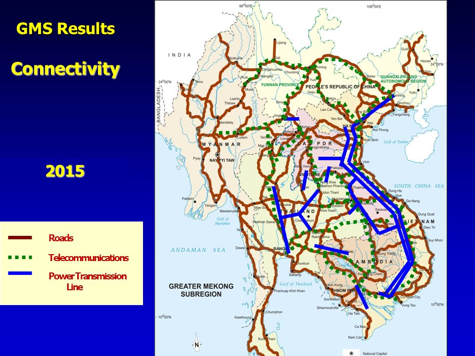 Connectivity GMS Results 2015 Roads Telecommunications