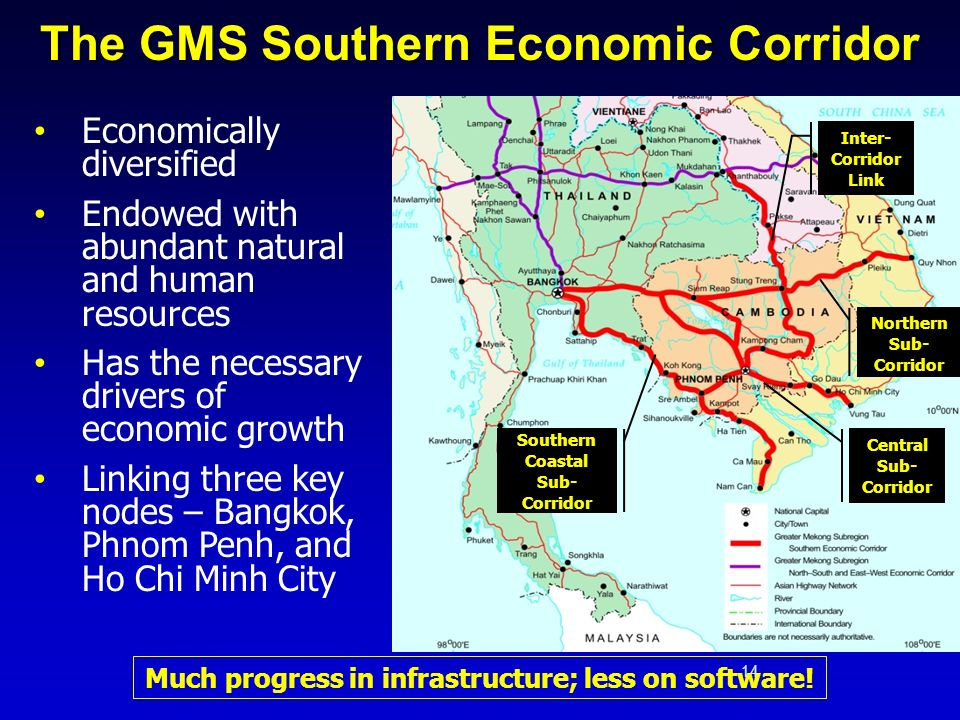 The GMS Southern Economic Corridor