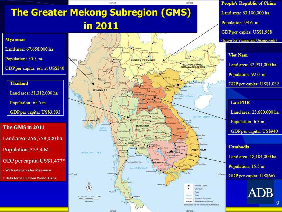 The Greater Mekong Subregion (GMS)