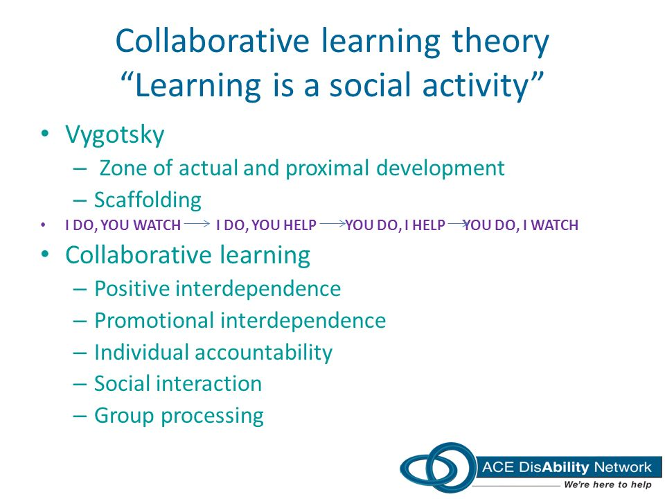 Collaborative Learning In Classroom Interaction ~ Ace disability network ppt download