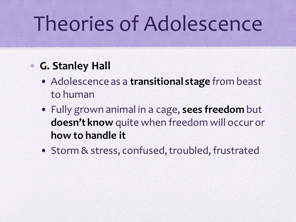 definition of adolescence