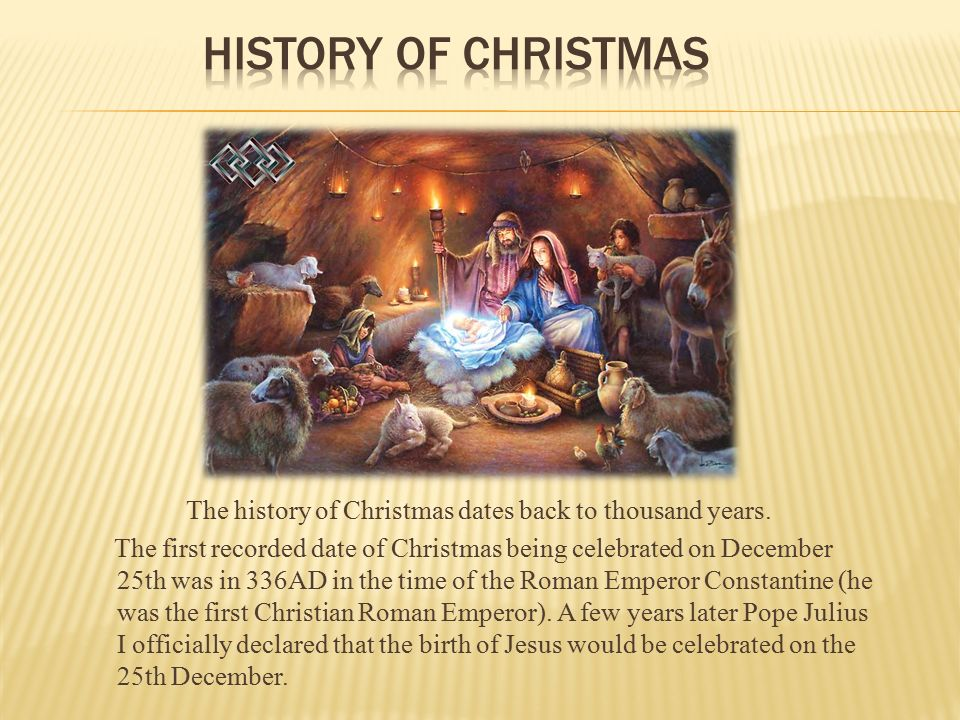 Why christmas is celebrated on 25th