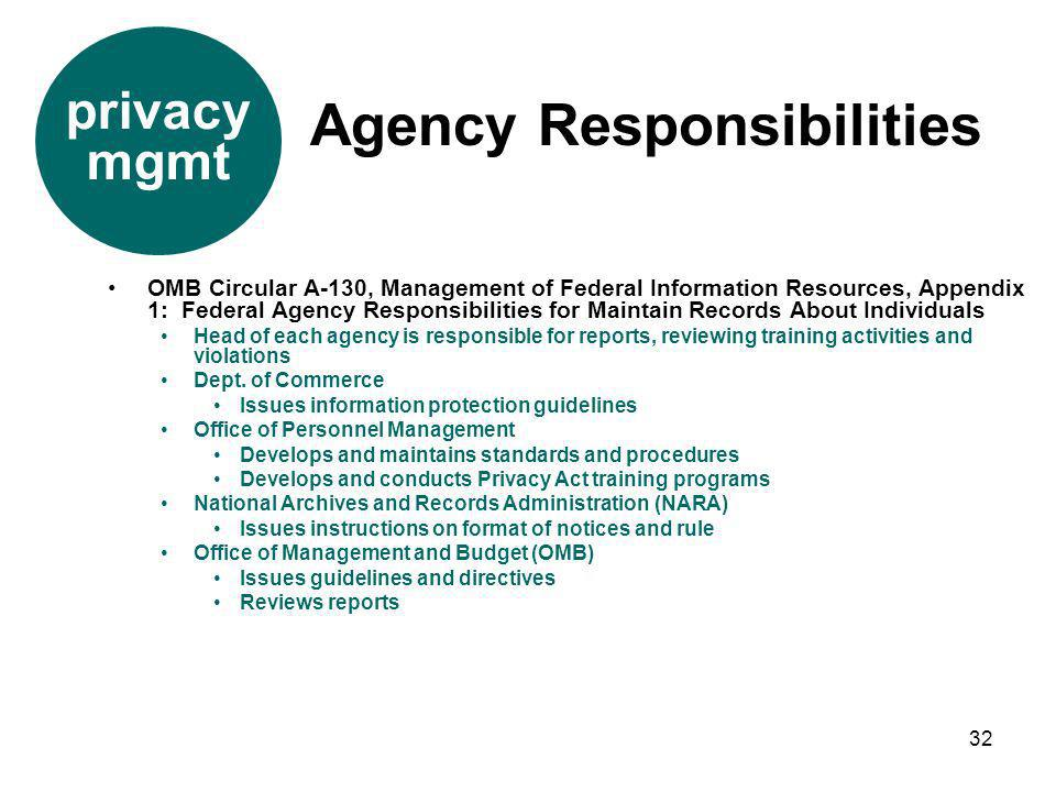 records management standards and guidelines