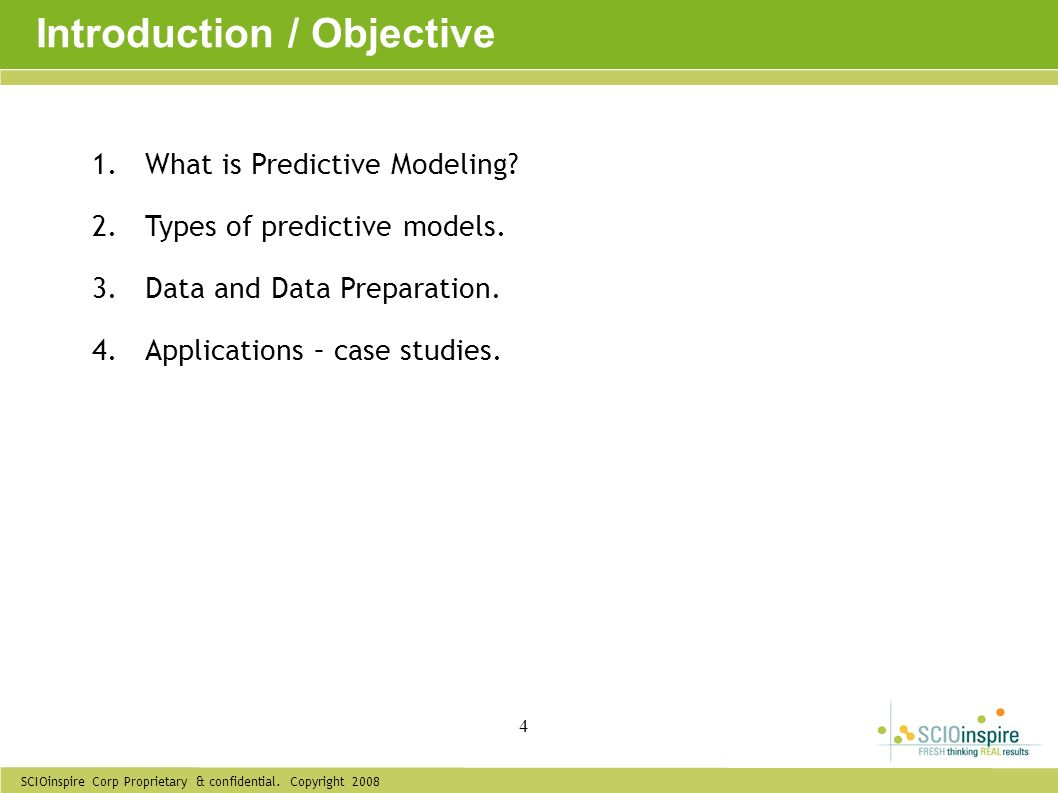 Introduction / Objective