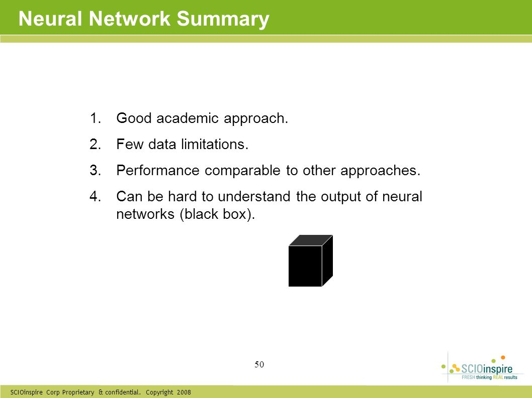 Neural Network Summary