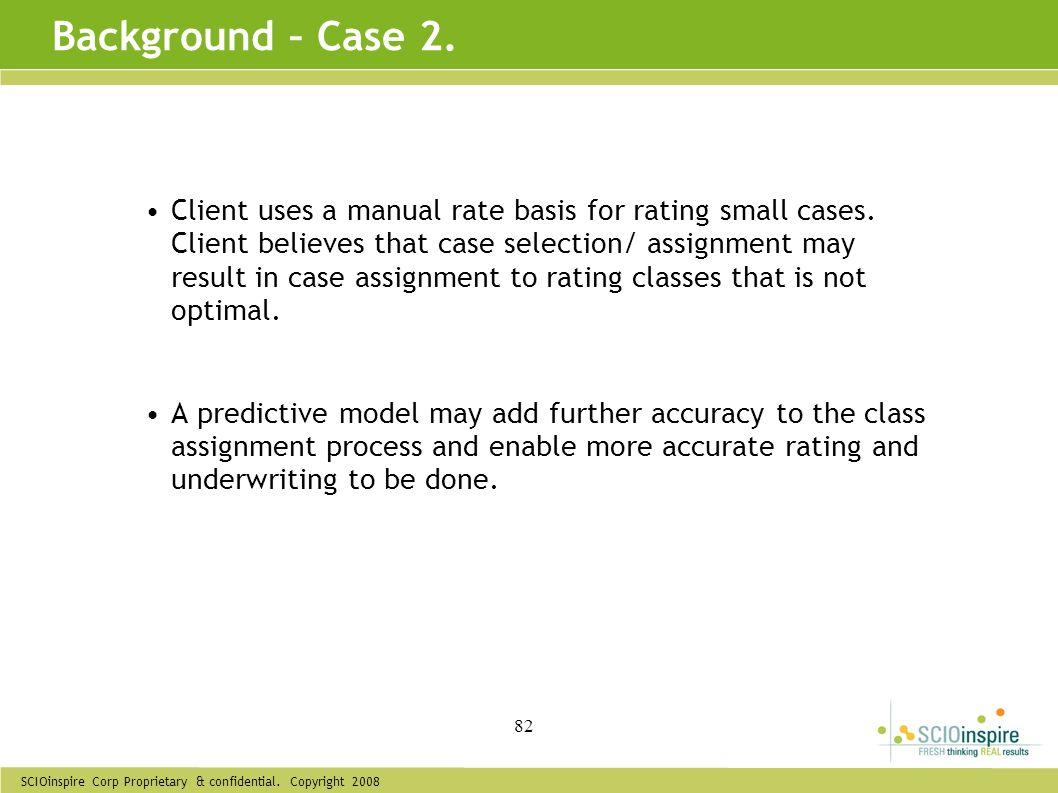 Background – Case 2.