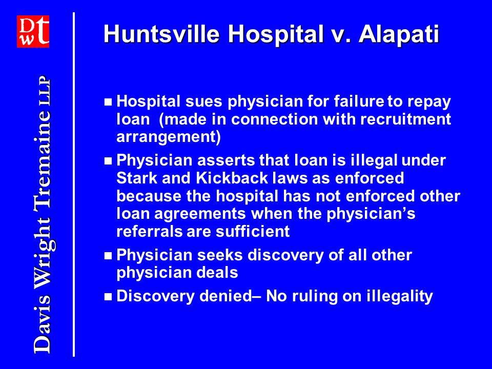 Huntsville Hospital v. Alapati