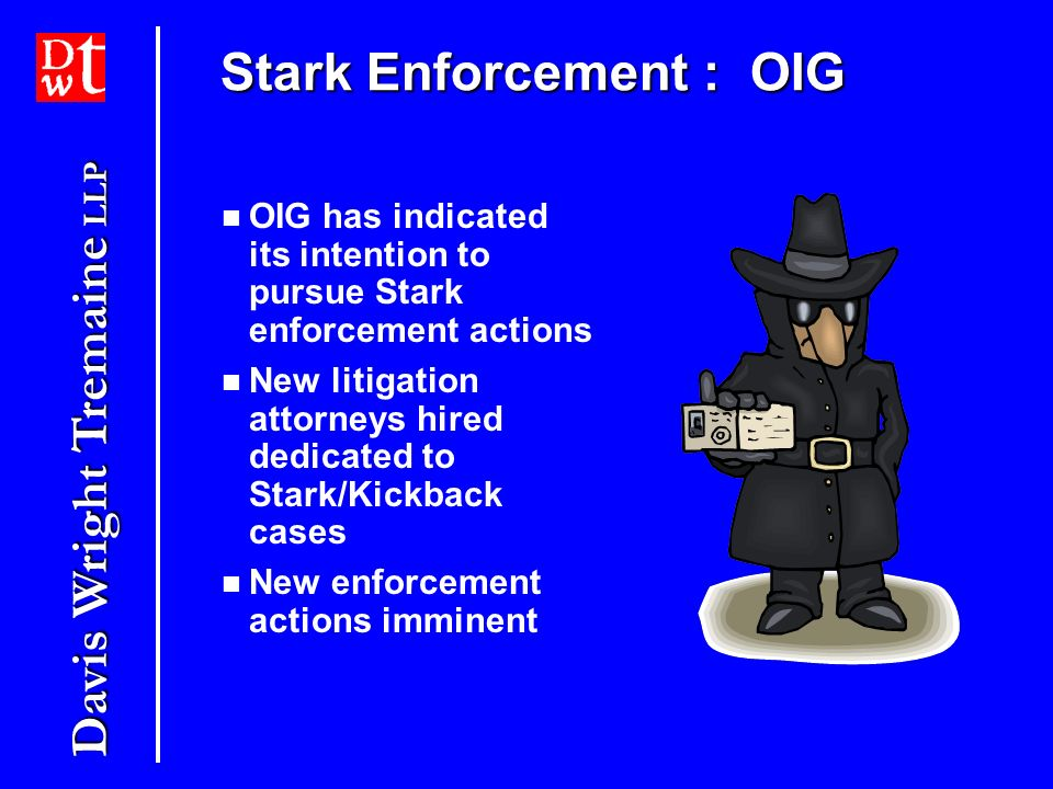Stark Enforcement : OIG