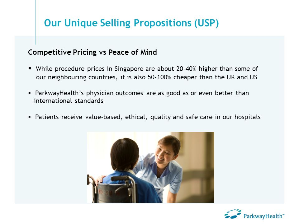 Our Unique Selling Propositions (USP)