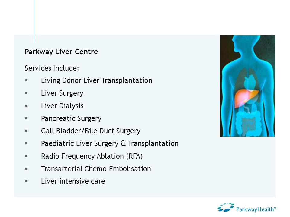 Living Donor Liver Transplantation Liver Surgery Liver Dialysis