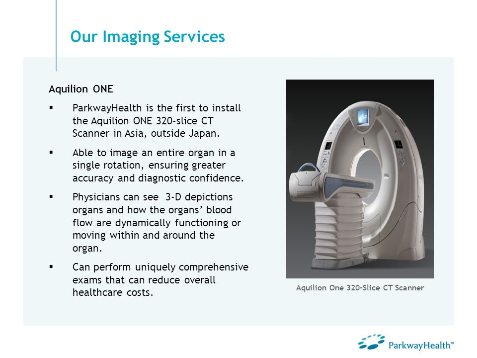 Aquilion One 320-Slice CT Scanner