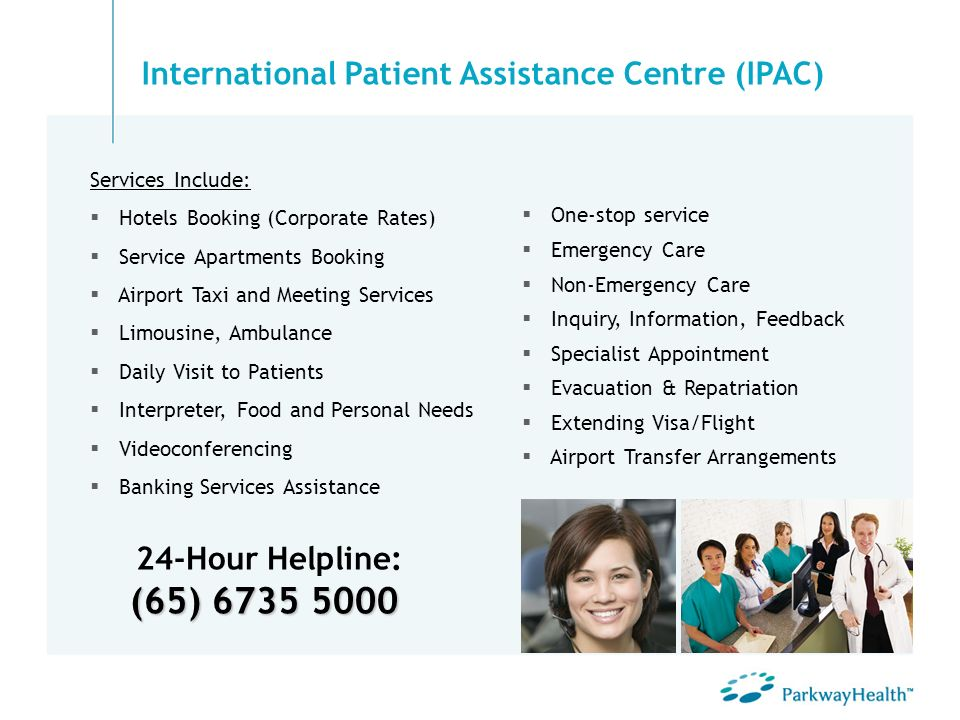 International Patient Assistance Centre (IPAC)