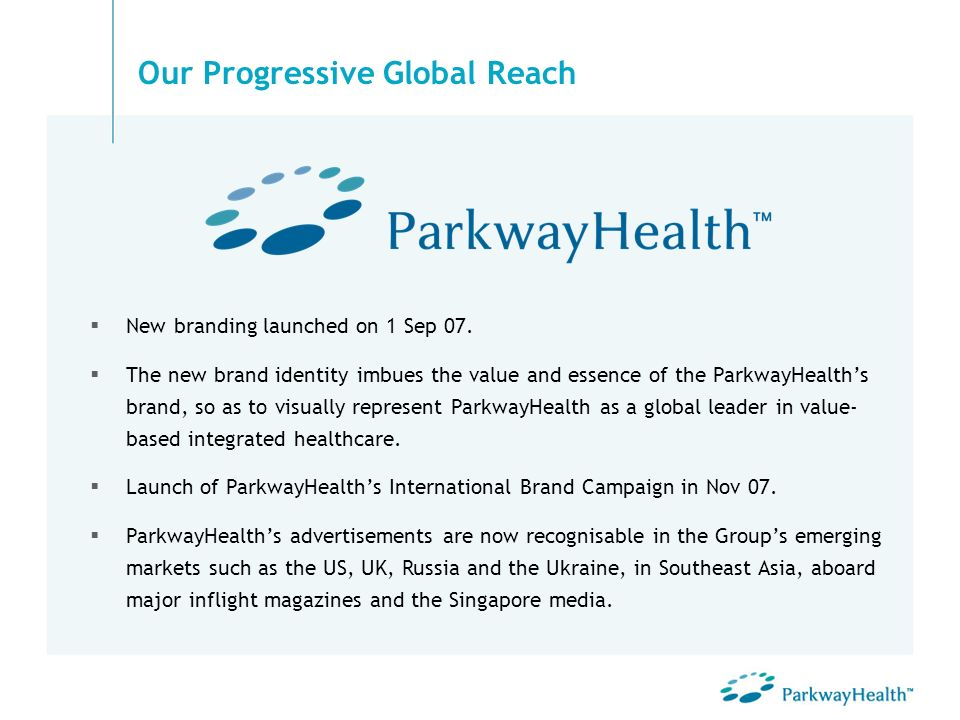 Our Progressive Global Reach
