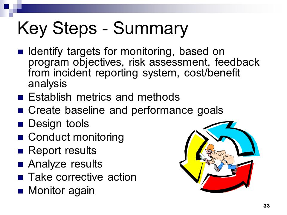 Key Steps - Summary