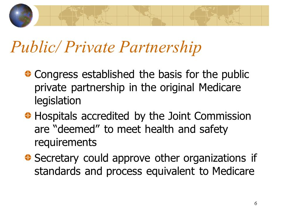 Public/ Private Partnership