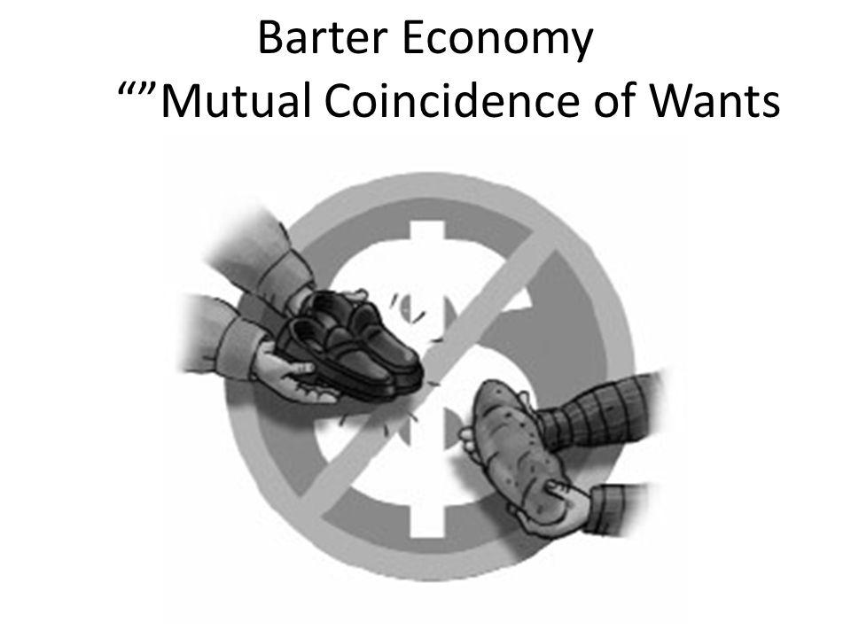 Barter Economy Mutual Coincidence of Wants