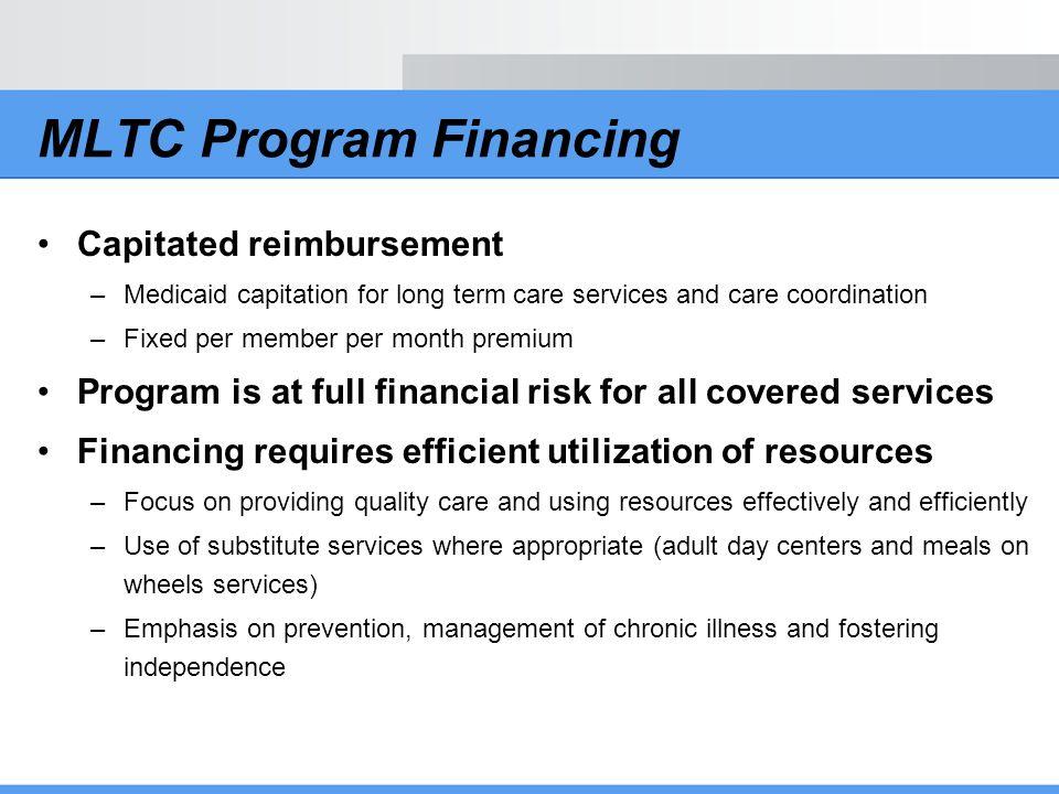 MLTC Program Financing