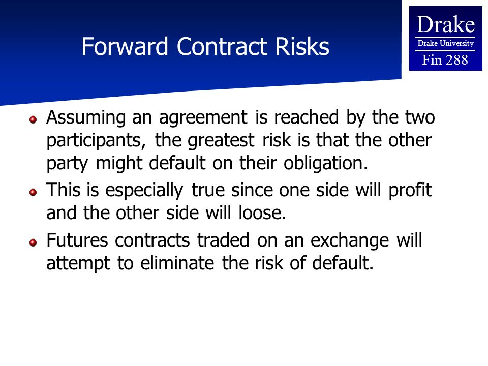 Use forward contract in a sentence