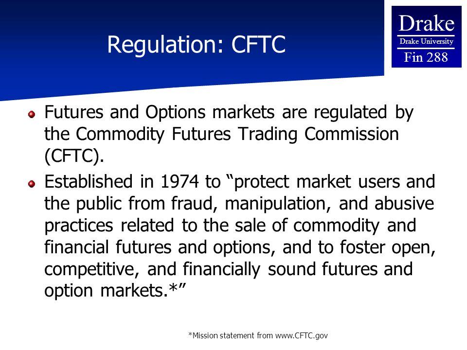 Commodity trade option cftc
