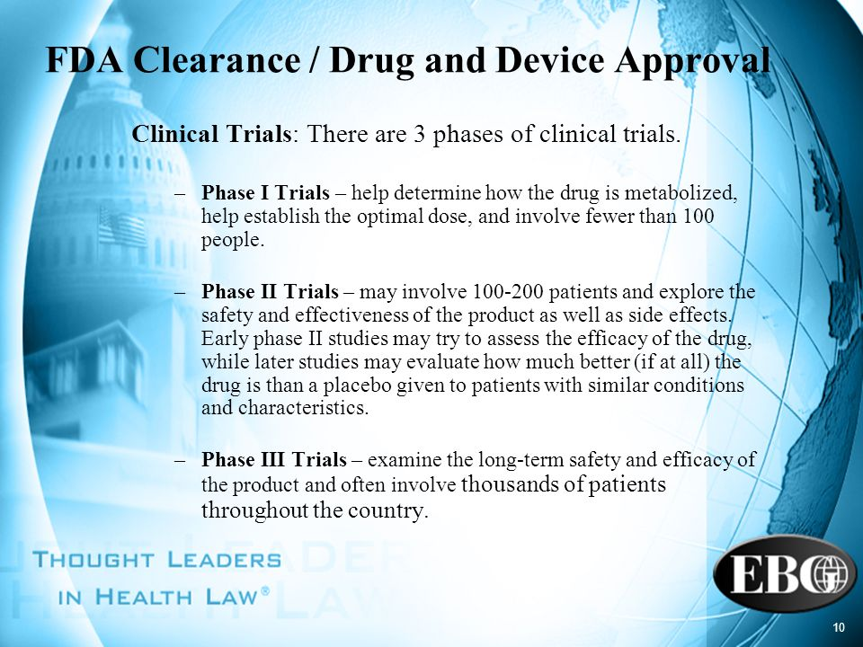 FDA Clearance / Drug and Device Approval