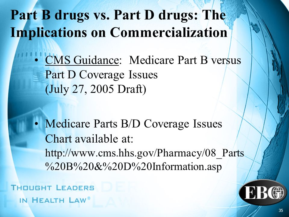Part B drugs vs. Part D drugs: The Implications on Commercialization