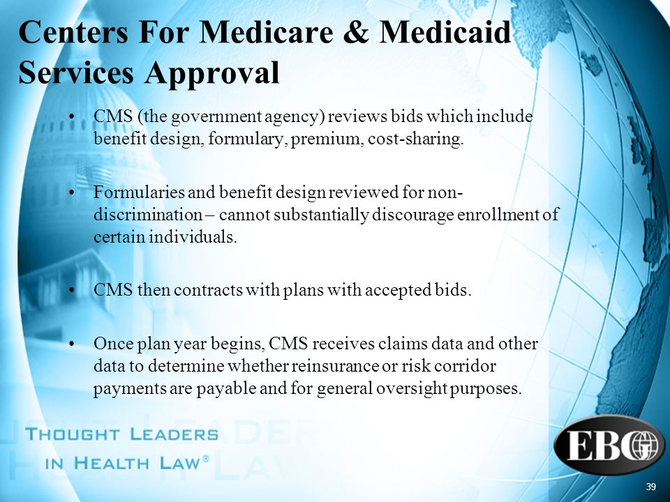 Centers For Medicare & Medicaid Services Approval