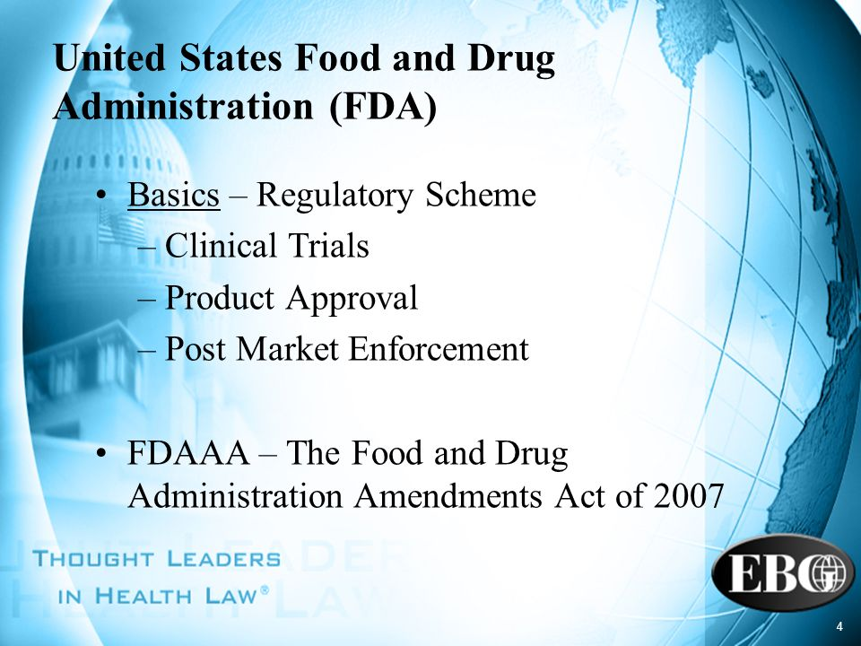 United States Food and Drug Administration (FDA)