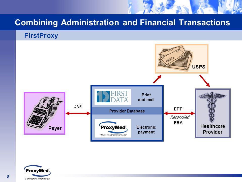 Combining Administration and Financial Transactions
