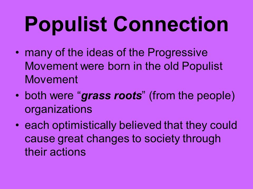 The Progressive Movement Ppt Video Online Download