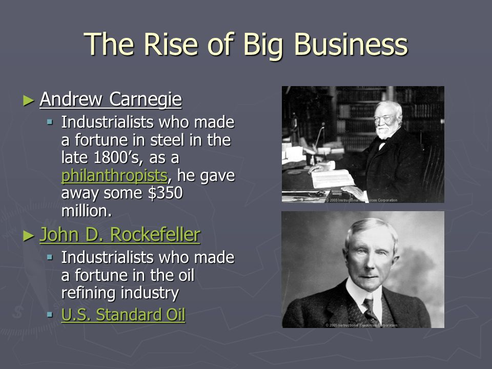 john d rockefeller and andrew carnegie essay Michael callicutt dr claude black hy 273 15th november 2011 the different business practices of andrew carnegie & john d rockefeller two of the as this essay.
