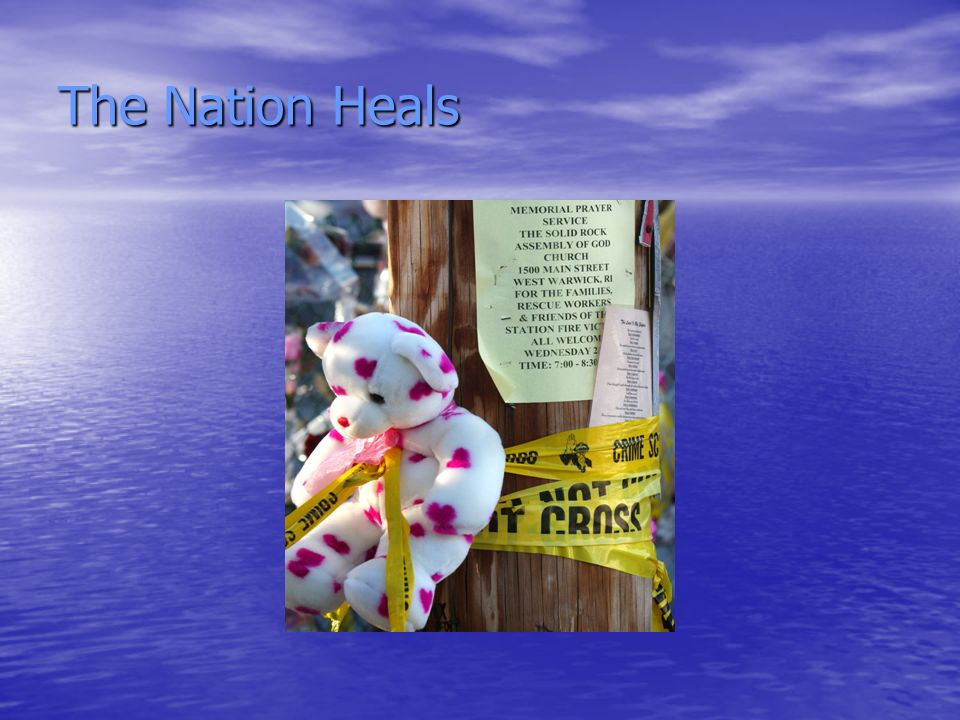 The Nation Heals