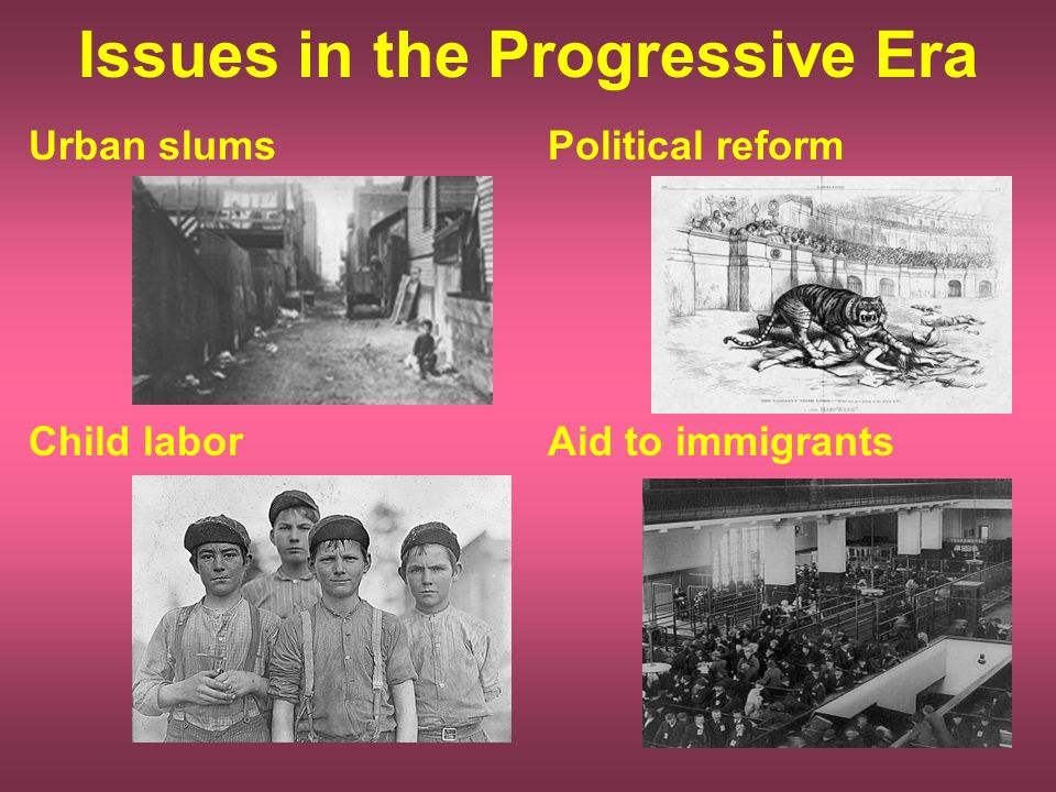 new immigrant experience and progressive era politics Immigration during the progressive era by: progressivism began as a social movement and grew into a political the vast majority of these new immigrants.