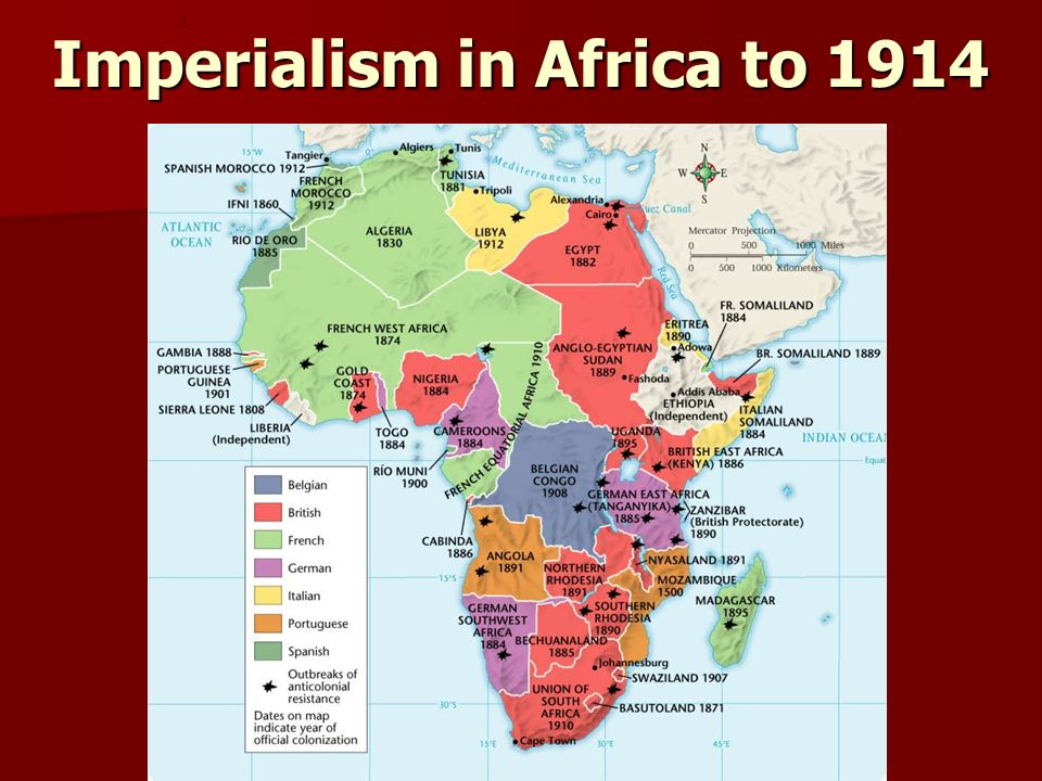Imperialism in Africa to 1914