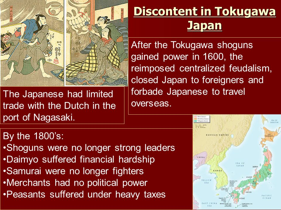 Discontent in Tokugawa Japan