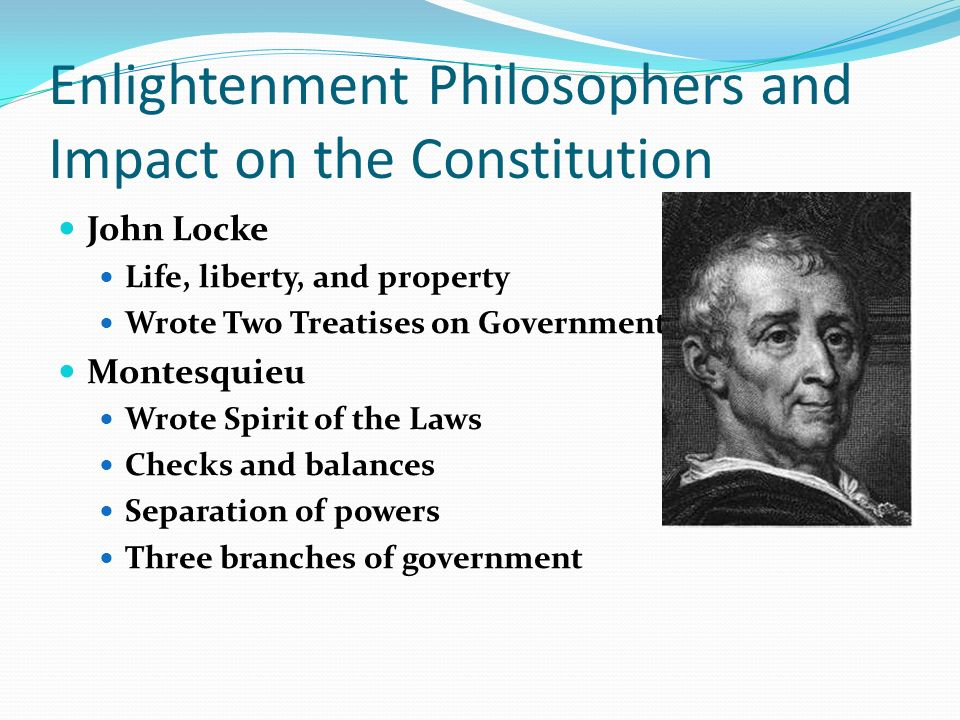 Montesquieu Property Laws