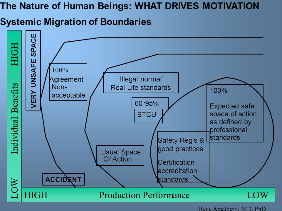 The Nature of Human Beings: WHAT DRIVES MOTIVATION