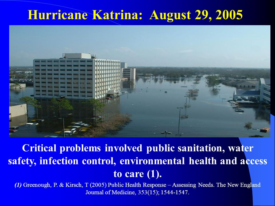 Hurricane Katrina: August 29, 2005